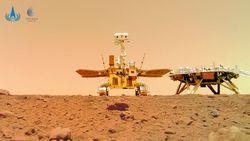 Zhurong: El otro rover en Marte