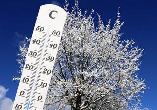 minus 12°C: Es steht ein heftiger Temperaturschock an!