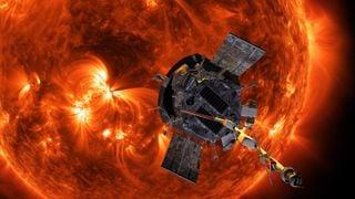 Mirando hacia los lados desde la sonda Parker Solar