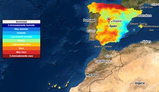 Monitorización de las sequías meteorológicas en España