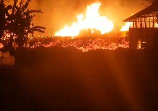 Heftiger Vulkanausbruch im Kongo!