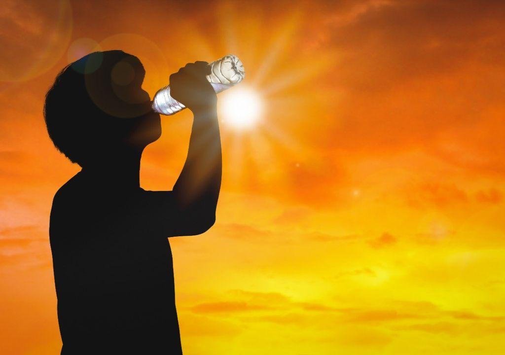 Onda de calor no Sul
