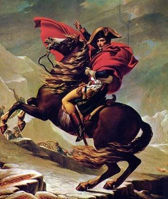 Napoleón, Waterloo Y El Volcán
