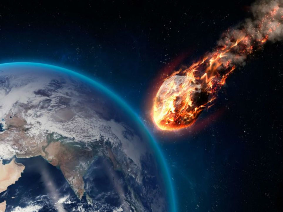 NASA simulates the impact of an asteroid on the Earth