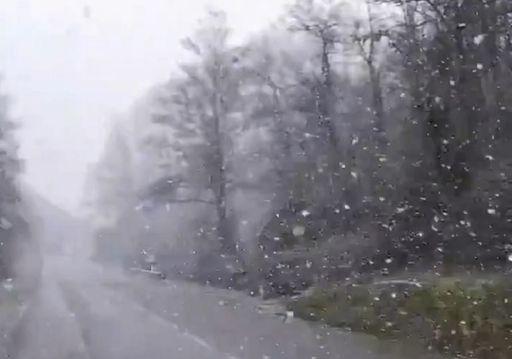 Neve fino a quote collinari al centro-sud: ecco i video
