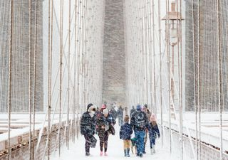 New York blizzard photo wins Weather Photographer of the Year