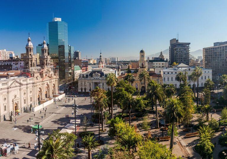 Plaza de Armas; Santiago de Chile; Capital de Chile