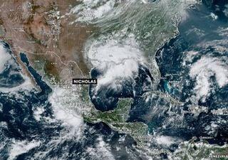 Nicholas pone en riesgo de inundaciones severas al sur de EE.UU.