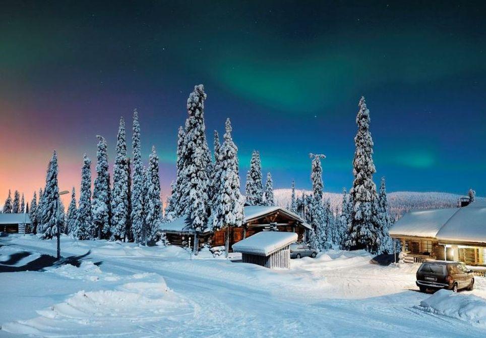 Condiciones de nieve en Europa por el vórtice polar