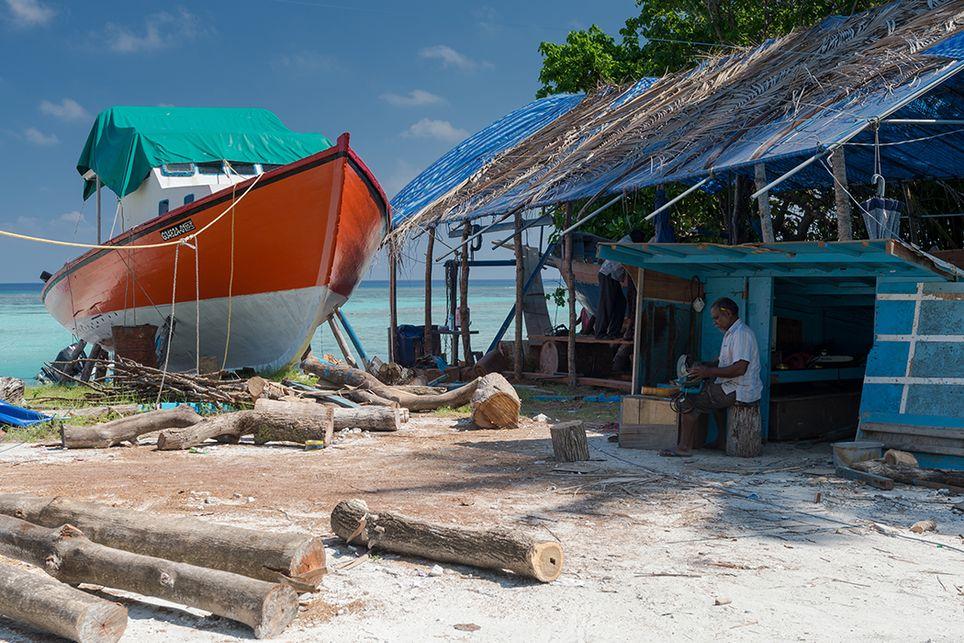 Malediven Klimawandel Meeresspiegel
