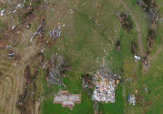 NOAA usa drones para ver daños de tornados en zonas remotas