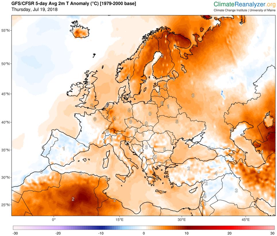 """""""noches Tropicales"""" En Laponia: Récord De Temperatura Mínima Más Alta En El ártico"""