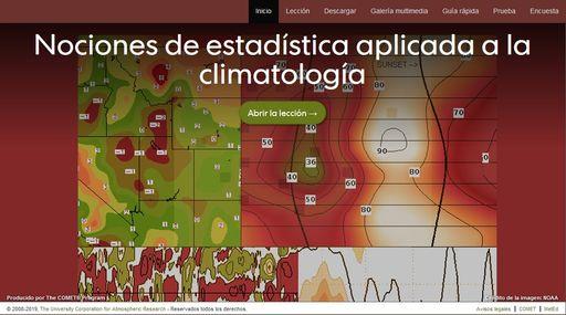 Nociones de estadística aplicada a la climatología