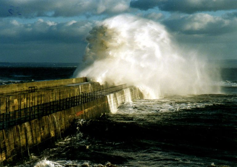 Meteotsunamis atingindo a costa