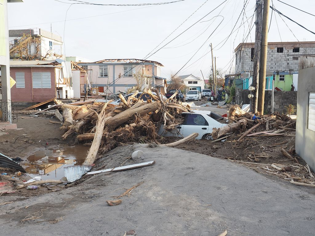 Hurrikan-Schäden