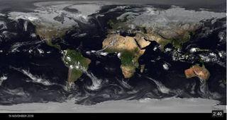 Noviembre 2018 en imágenes de satélite a nivel global