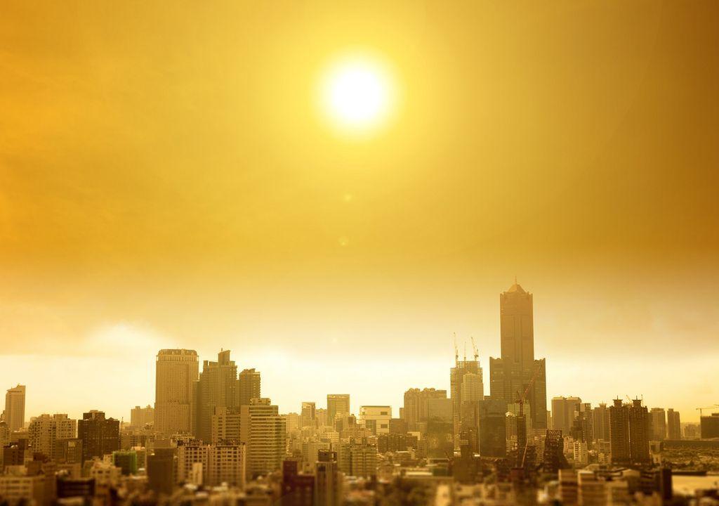 Ola de calor; ciudades; calentamiento global