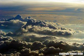 Nubes desde el avión
