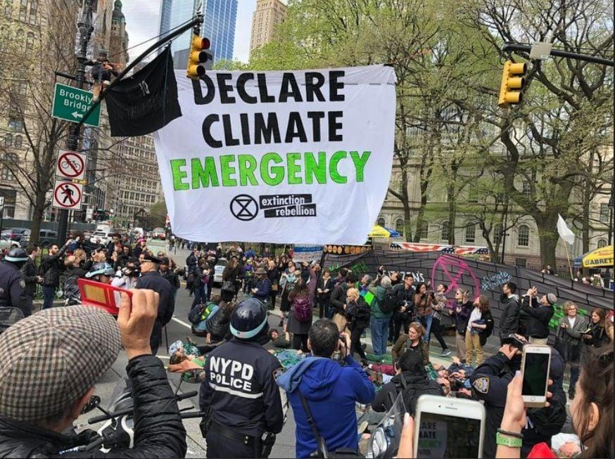 Nueva York declara la emergencia climática