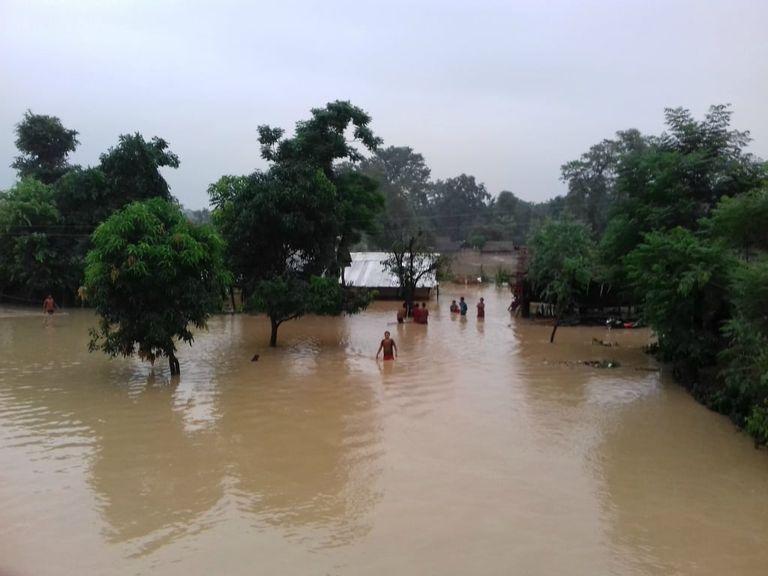 Lluvias fuertes y posibles inundaciones en México