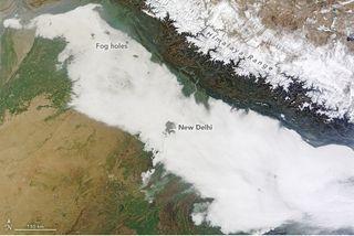 Nuevo descubrimiento explicado: Las islas urbanas de calor perforan agujeros en la niebla
