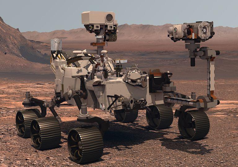Rover Perseverance Mars