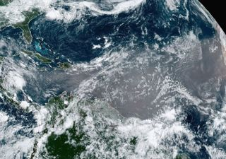 Nuvem de poeira do Saara atravessa o Caribe e pode chegar à Flórida
