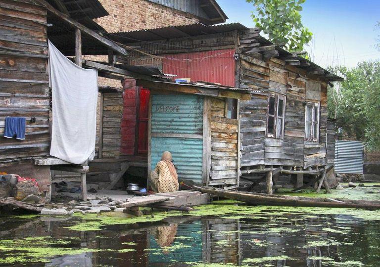 Inundações em lagos africanos do Quênia.