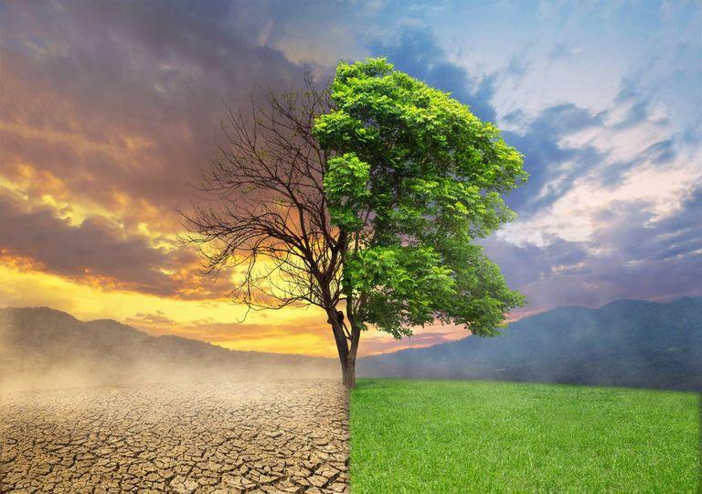 Alterações climáticas concetual