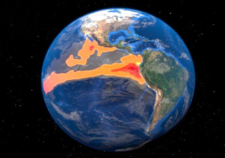 El Niño; alterações climáticas; temperatura oceânica.