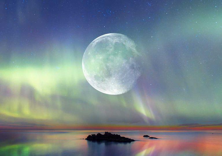 lua; influência nas marés.