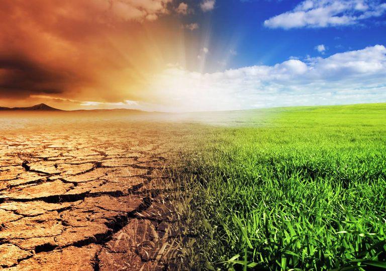 alterações climáticas;