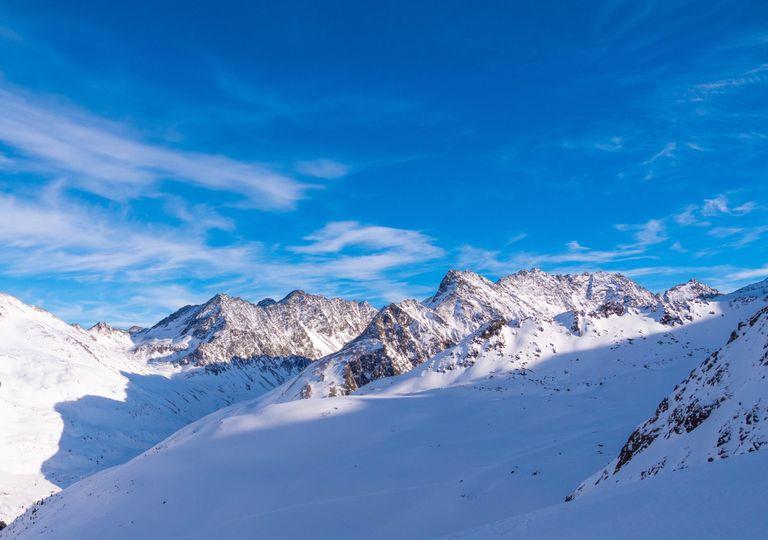 Glaciar de montanha