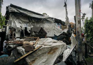 O rescaldo do ciclone Amphan em época de tempestades