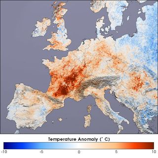 Ola de calor europea en el verano del 2003