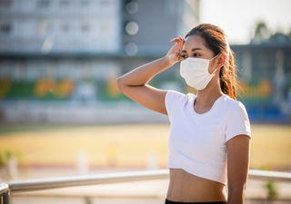 Calor y mascarillas: consejos para tu día a día, en el trabajo o playa