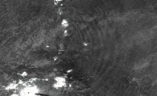 Ondas de gravedad generadas por la erupción del volcán La Soufriere
