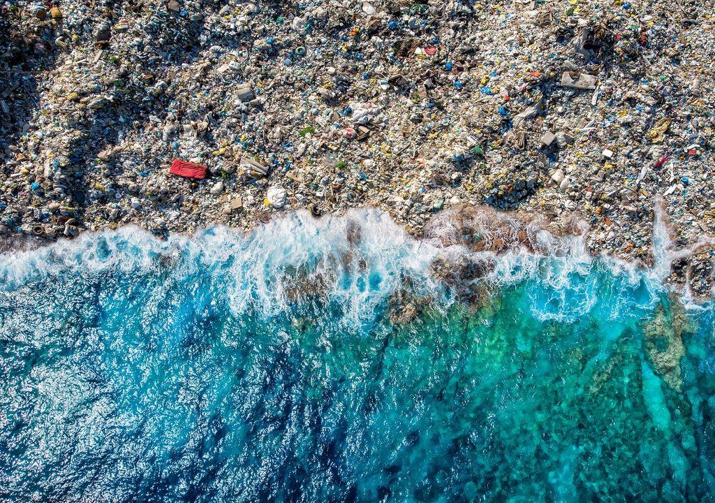 Basura en los océanos