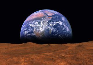 Organismos terrestres pueden sobrevivir temporalmente en Marte