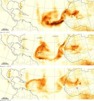 Origen de los aerosoles atmosféricos transportados a través de la troposfera libre del Atlántico Norte