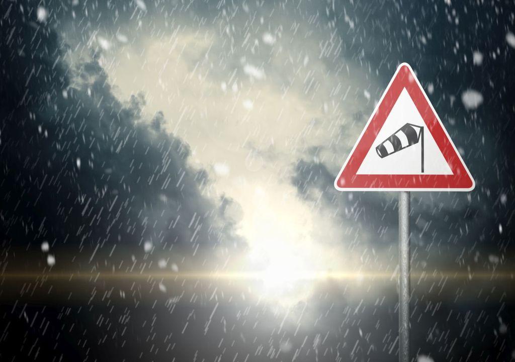 Orkan, Sturm