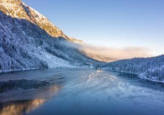 Os lagos glaciares estão cerca de 50% maiores desde 1990