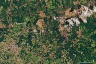 Otra represa mortal se derrumba en Brasil