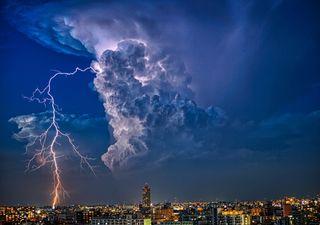 Otro fin de semana con tormentas en México