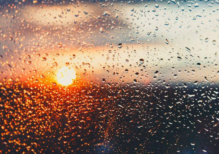 chuva; sol; tempo