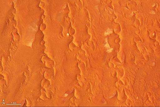 Paisajes arenosos del desierto de Namib