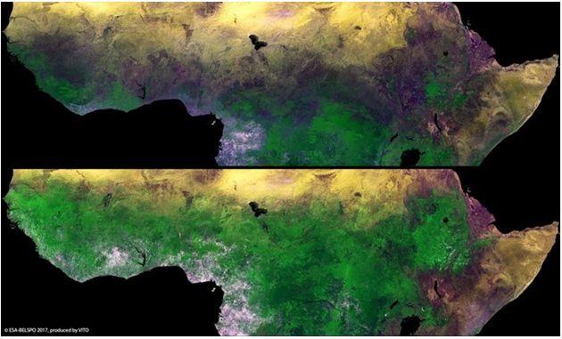 Parte De áfrica, Más Verde