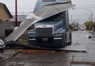 Patagonia: temporal de viento con ráfagas que superaron los 100 km/h