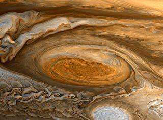 Singulares patrones atmosféricos extraterrestres