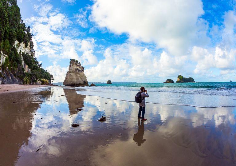 Fotógrafo en la playa